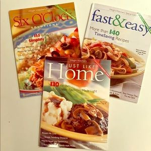 Other - Bundle of 3 Weight Watchers Cookbooks